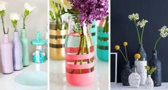 11 idee brillanti per trasformare bottiglie e barattoli di vetro in oggetti d'arredo strepitosi