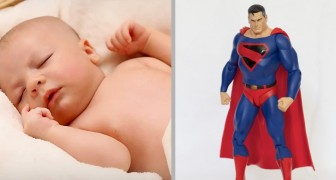 A premature baby is born at 5 months gestation: he was as small as a Superman doll
