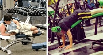 17 mensen die hun best deden om in vorm te blijven, maar jammerlijk faalden