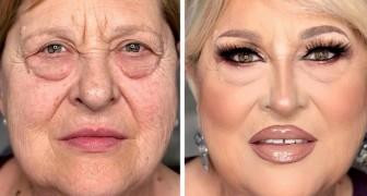 15 mulheres que se transformaram em pessoas completamente diferentes com a magia da maquiagem