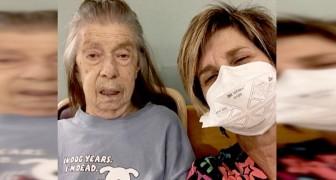 Una figlia disperata si fa assumere nella lavanderia di una casa di riposo per poter vedere la mamma anziana