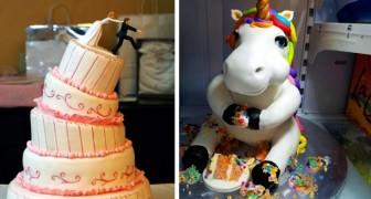 16 gâteaux amusants que des personnes ont eu le courage de faire