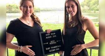 Deux sœurs jumelles accouchent le jour de leur 33e anniversaire à quelques minutes d'intervalle