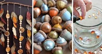 10 travaux vraiment charmants pour les grands et les petits inspirés de la magie de l'automne