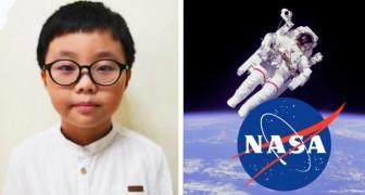 La NASA ha scelto l'idea di un bambino di 9 anni per far andare in bagno gli astronauti durante le missioni spaziali