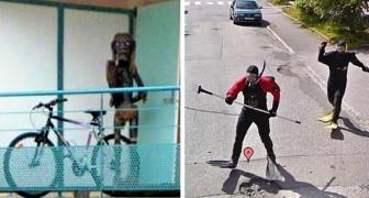 19 der absurdesten und lustigsten Bilder, die von Google Street View aufgenommen wurden
