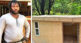 A young carpenter builds warm and weather resistant houses for the homeless: I want to prevent them from dying of cold in winter