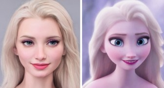 Un artista usa l'Intelligenza Artificiale per ricreare i personaggi Disney come se vivessero nel mondo reale