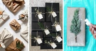 11 trovate alternative per confezionare regali in modo elegante e personalizzato