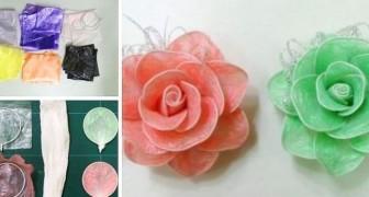 Des poches en plastique à d'adorables roses : le tutoriel pas à pas pour recycler avec créativité