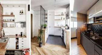 11 cucine moderne da cui trarre spunto per arredare con gusto ed efficienza gli spazi piccoli