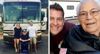 A grandson takes his 95-year-old grandfather on a trip in a the motor home instead of locking him in a retirement home