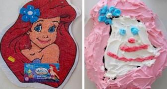 15 torte di compleanno venute talmente male che andrebbero premiate almeno per il coraggio