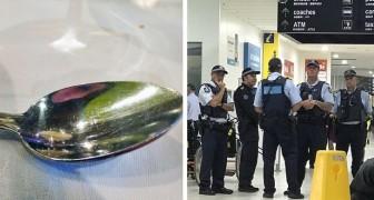 Ein Verein hat den Löffeltrick erfunden, um die Polizei diskret zu alarmieren, dass sie in Gefahr sind...