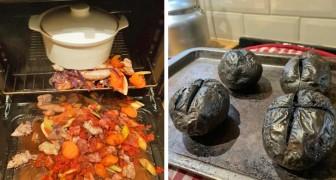 13 disastri in cucina fatti da completi inesperti che credevano fosse necessario solo seguire la ricetta