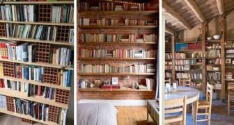 10 splendide librerie fai-da-te per arredare in stile rustico ma con gusto moderno