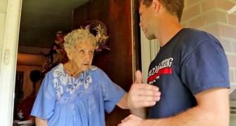 Um mulher de 90 anos é denunciada pelos seus vizinhos por causa do quintal cheio de lixo: a multa é muito alta