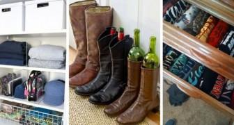 11 trucchi super-ingegnosi da sfruttare per fare ordine nell'armadio