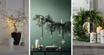 10 decorazioni natalizie semplici ma raffinate per celebrare le feste con eleganza