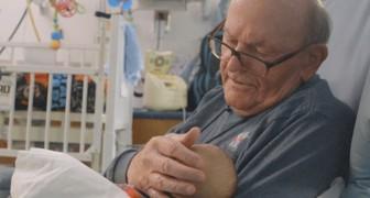 Adieu au grand-père de l'unité de soins intensifs : il a tenu des bébés prématurés dans ses bras pendant plus de 15 ans