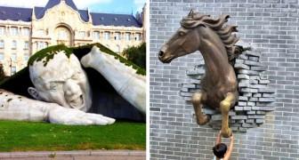 15 moderne Skulpturen, die bezeugen, dass Kreativität und Geschicklichkeit noch immer bemerkenswerte Kunstwerke hervorbringen