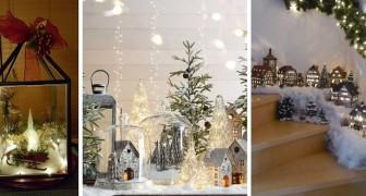 12 incantevoli paesaggi natalizi da allestire con le vostre mani in diversi angoli di casa