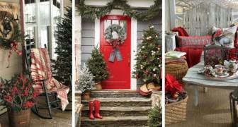 11 incantevoli allestimenti per dare un magico tocco natalizio all'esterno della vostra casa