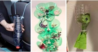 10 trovate brillanti per riciclare le bottiglie di plastica e trasformarle in oggetti utili e originali