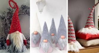 13 lavoretti semplicissimi per realizzare simpatici folletti e gnomi di Natale