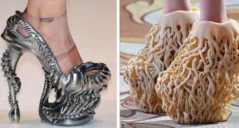 18 Schuhe von fragwürdiger Schönheit, die einige jedoch zu tragen wagen würden