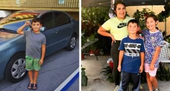 A soli 8 anni avvia un piccolo business e compra una macchina a sua madre: ora la sua famiglia non è più così povera