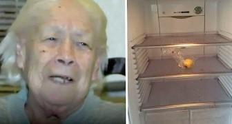 Einer alten Frau werden Geld und Essen gestohlen, aber ein freundlicher Beamter beschließt, ihren Einkauf zu bezahlen