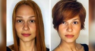 Lange vs. kurze Haare: 16 Frauen, die beschlossen haben, sie auf praktische und elegante Weise zu kürzen