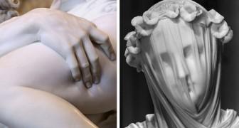 8 des plus belles sculptures jamais réalisées, qui nous font oublier un instant qu'elles sont en marbre