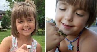 Era vittima di bullismo perché appassionata di insetti: a 8 anni ha già pubblicato una ricerca scientifica