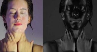 Rostros vistos en una camara ultravioleta muestra algo INCREIBLE!