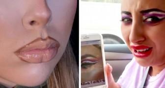 15 mensen die hebben overdreven met make-up en echte horror-meesterwerken hebben gemaakt