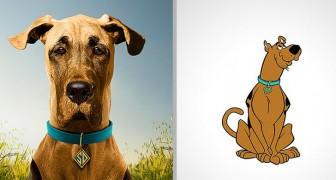 Un artiste repense les personnages de bandes dessinées et de dessins animés de manière réaliste : ils ressemblent à de vrais animaux
