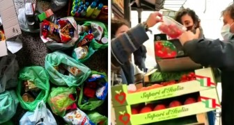 A Bari, gli studenti salvano il cibo invenduto e lo donano alle famiglie bisognose più colpite dal lockdown