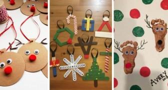 12 travaux de Noël sympas à réaliser avec les enfants pendant les fêtes