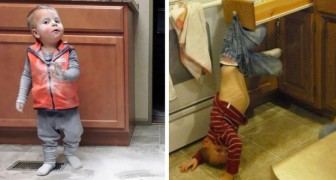 15 disasters caused by children which show parents need infinite patience