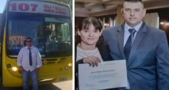 A 42-year-old driver finally graduates in law: during the day he works as a lawyer and at night he drives a bus