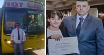 Een 42-jarige chauffeur is eindelijk afgestudeerd in rechten: overdag werkt hij als advocaat en 's nachts is hij chauffeur