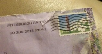 She receives a letter from her late mother after a five-year postal delay
