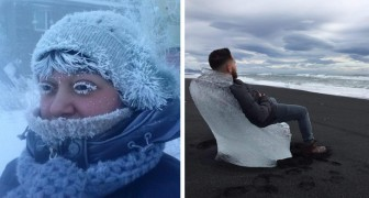 15 afbeeldingen laten zien waartoe de kou in staat is als de temperatuur onder het vriespunt daalt