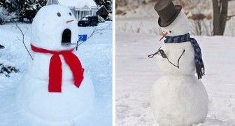 17 original and creative snowmen who brought a touch of magic to their neighborhoods