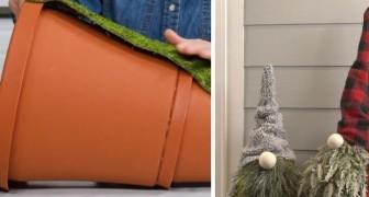 La méthode DIY pour réaliser de sympas gnomes de Noël et décorer l'entrée de la maison