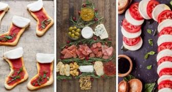 15 idées délicieuses pour présenter les apéritifs de Noël de façon créative