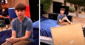 A teenager steals his parents' car: his father punishes him by selling all his belongings