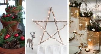 12 decorazioni di Natale facili e creative, perfette da realizzare anche all'ultimo minuto